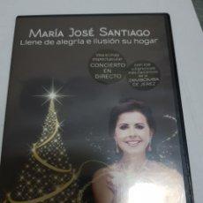 Cine: DVD ORIGINAL *MARÍA JOSÉ SANTIAGO EN CONCIERTO*. Lote 133493149