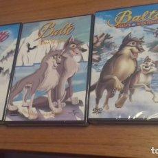 Cine: CINE DVD PELICULA BALTO TRILOGIA CLASICO DEL PERRO ESQUIMAL. Lote 133542382