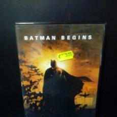 Cine: BATMAN BEGINS DVD. Lote 133559130