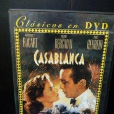 Cine: CASABLANCA DVD. Lote 133647702
