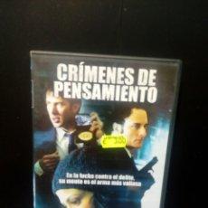 Cine: CRÍMENES DE PENSAMIENTO DVD. Lote 133657142