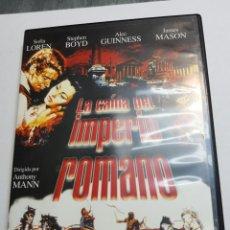 Cine: DVD ORIGINAL *LA CAÍDA DEL IMPERIO ROMANO *. Lote 133664374