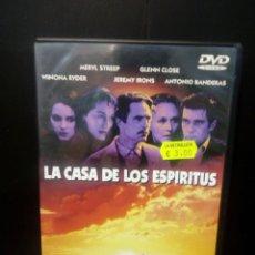 Cine: LA CASA DELOS ESPÍRITUS DVD. Lote 133667187