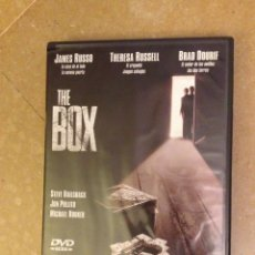 Cine: THE BOX (JAMES RUSSO, THERESA RUSSELL, BRAD DOURIF) DVD. Lote 133679025