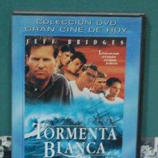 Cine: TORMENTA BLANCA, JEFF BRIDGES. DVD. Lote 133738402