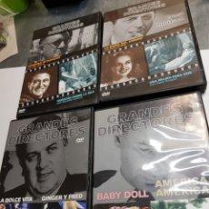 Cine: DVD LOTE 4 PELÍCULAS ORIGINALES *GRANDES DIRECTORES *. Lote 170885362