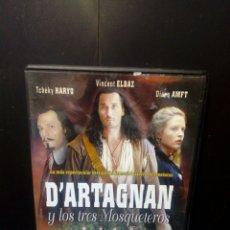 Cine: DARTAGNAN Y LOS TRES MOSQUETEROS DVD. Lote 133755917