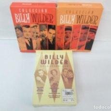Cine: COLECCION DVD. BILLY WILDER. VOL 1 Y 2. TRAIDOR EN EL INFIERNO. EL CREPUSCULO DE LOS DIOSES. SABRINA. Lote 133771914