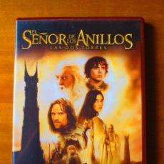 Cine: EL SEÑOR DE LOS ANILLOS. LAS DOS TORRES (2 DVD). Lote 133816742
