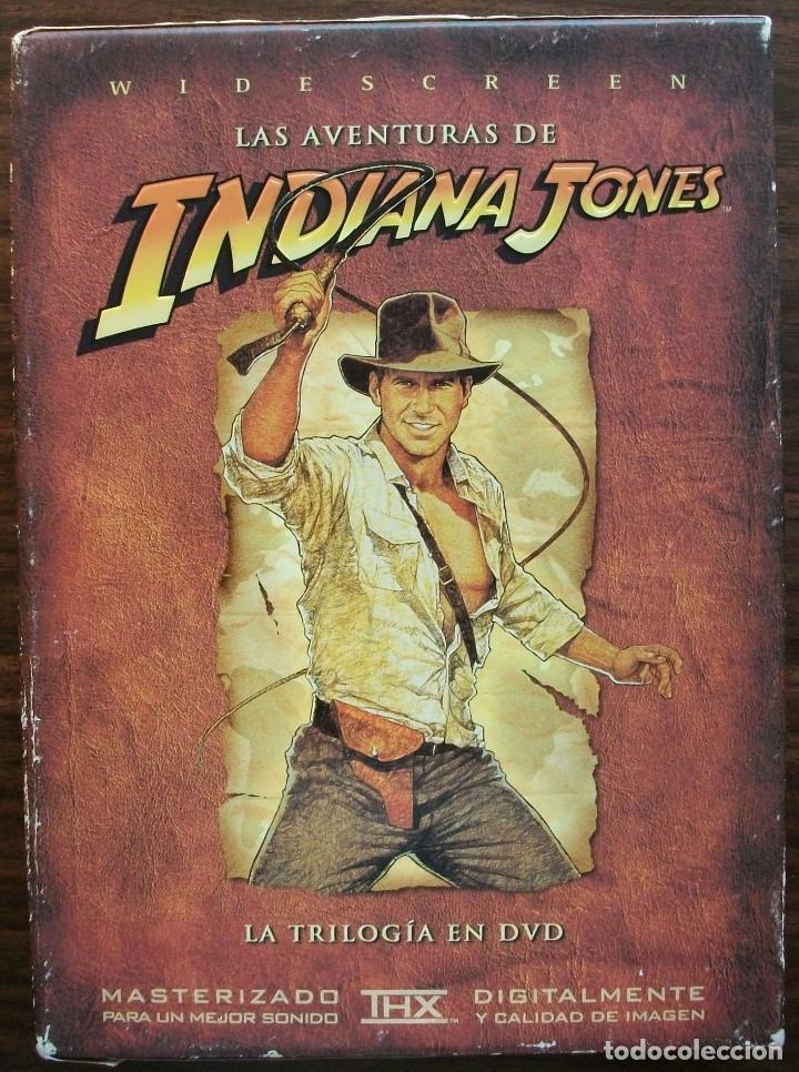 LAS AVENTURAS DE INDIANA JONES. LA TRILOGIA EN DVD MAS UN DVD MATERIAL EXTRA (Cine - Películas - DVD)