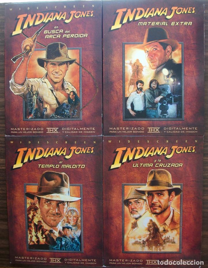 Cine: LAS AVENTURAS DE INDIANA JONES. LA TRILOGIA EN DVD MAS UN DVD MATERIAL EXTRA - Foto 2 - 133836166