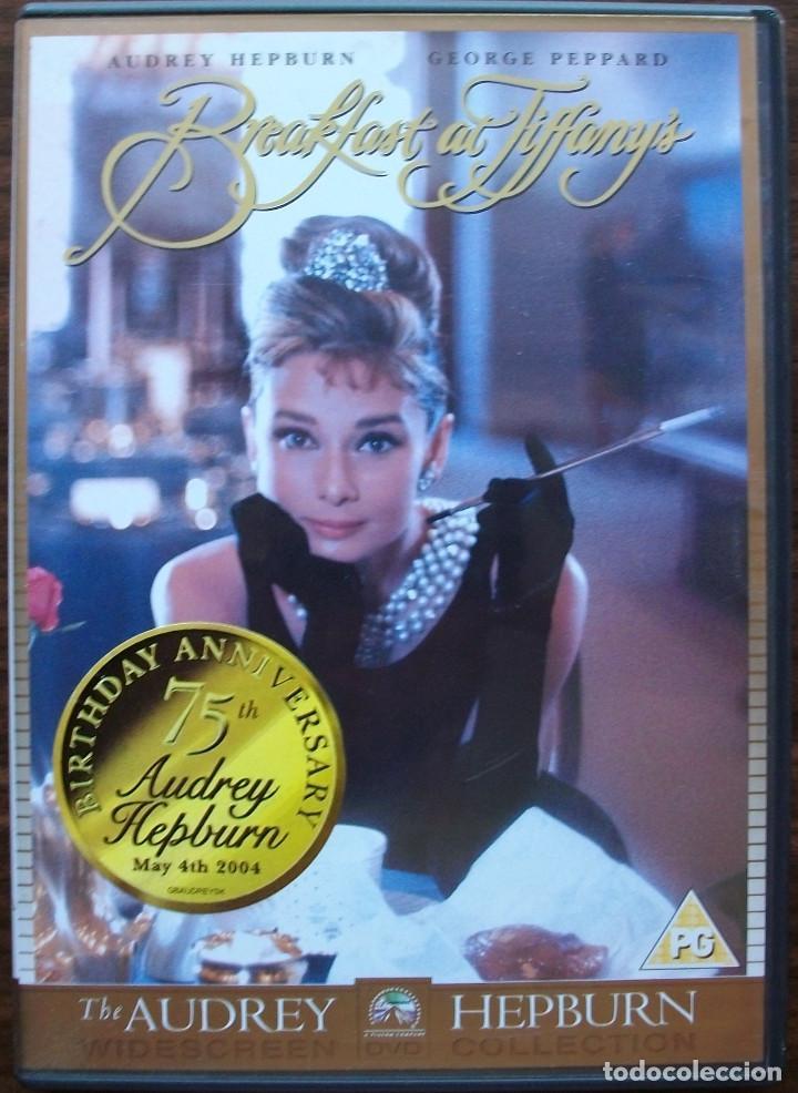 BREAKFAST AT TIFFANY'S DESAYUNO CON DIAMANTES EDICION ESPECIAL 75 AÑOS DE AUDREY HEPBURN (Cine - Películas - DVD)
