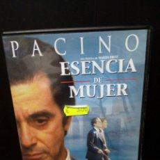 Cine: ESENCIA DE MUJER DVD. Lote 133898053