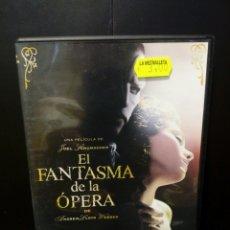 Cine: EL FANTASMA DE LA ÓPERA DVD. Lote 133907521