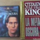 Cine: LA MITAD OSCURA (STEPHEN KING) PACK DVD + LIBRO ENCUADERNADO EN RUSTICA DE LUJO CON MAS DE 600 PAGGS. Lote 133908050
