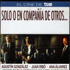Cine: SOLO O EN COMPAÑIA DE OTROS DVD (CINE EN TVE) ...POLICÍACO...CON UN INSPECTOR ALGO ATÍPICO. Lote 133982406