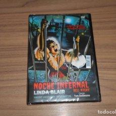 Cine: NOCHE INFERNAL HELL NIGHT DVD LINDA BLAIR TERROR NUEVA PRECINTADA. Lote 205584556