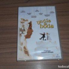 Cine: UN DIA DE BODA DVD DE ROBERT ALTMAN VITTORIO GASSMAN MIA FARROW GERALDINE CHAPLIN PRECINTADA. Lote 136506470