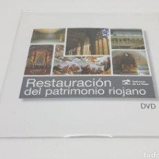 Cine: DVD - RESTAURACION PATRIMONIO RIOJANO - CAR61. Lote 134067114