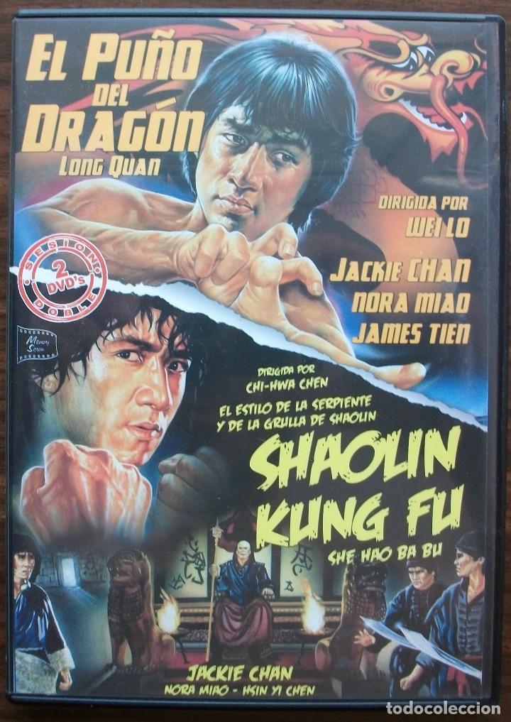 EL PUÑO DEL DRAGON / SHAOLIN KUNG FU. JACKIE CHAN 2 DVD'S (Cine - Películas - DVD)