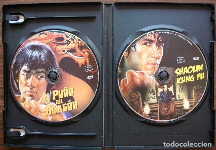 Cine: EL PUÑO DEL DRAGON / SHAOLIN KUNG FU. JACKIE CHAN 2 DVDS - Foto 2 - 134082426