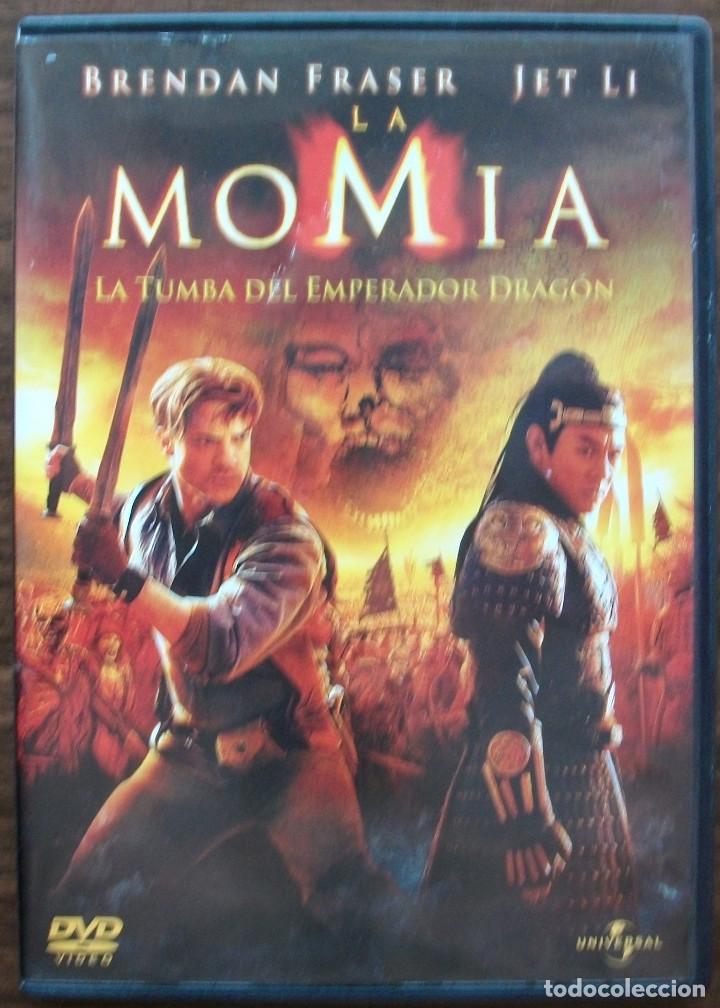 LA MOMIA. LA TUMBA DEL EMPERADOR DRAGON. BRENDAN FRASER / JET LI (Cine - Películas - DVD)