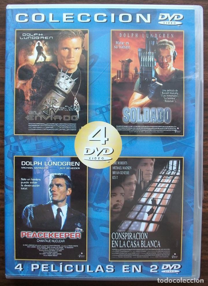 EL ENVIADO / SOLDADO / PEACEKEEPER / CONSPIRACION EN LA CASA BLANCA. (Cine - Películas - DVD)