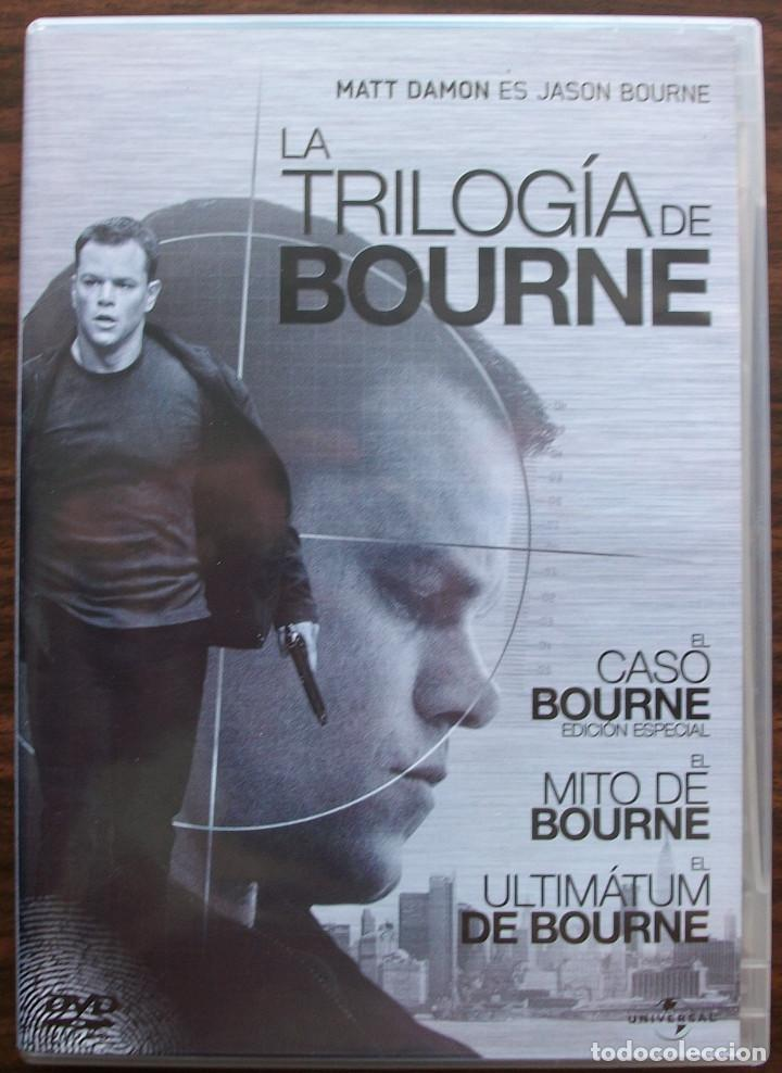 LA TRILOGIA DE BOURNE. MATT DAMON (Cine - Películas - DVD)