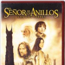 Cine: EL SEÑOR DE LOS ANILLOS - 2 DVD - LAS DOS TORRES. Lote 134100314