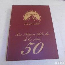 Cine: LAS MEJORES PELICULAS DE LOS AÑOS 50 - DVD - PARAMOUNT PICTURES - A. VIACOM COMPANY. Lote 134182778