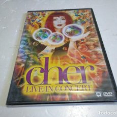 Cine: CHER LIVE IN CONCERT DVD SLIM NUEVO PRECINTADO. Lote 134184442
