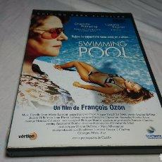 Cine: SWIMMING POOL, PELÍCULA ERÓTICA EN DVD, FRANÇOIS OZON. Lote 134246037