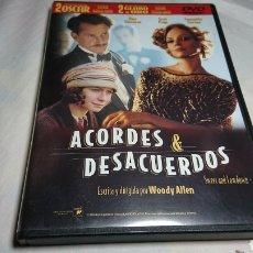 Cine: ACORDES Y DESACUERDOS, DVD WOODY ALLEN DESCATALOGADO. Lote 134246325