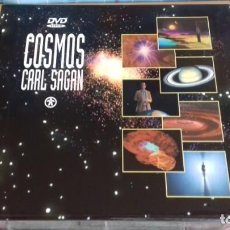 Cine: DVD DOCUMENTAL COSMOS CARL SAGAN PACK 13 DVDS. Lote 134322106