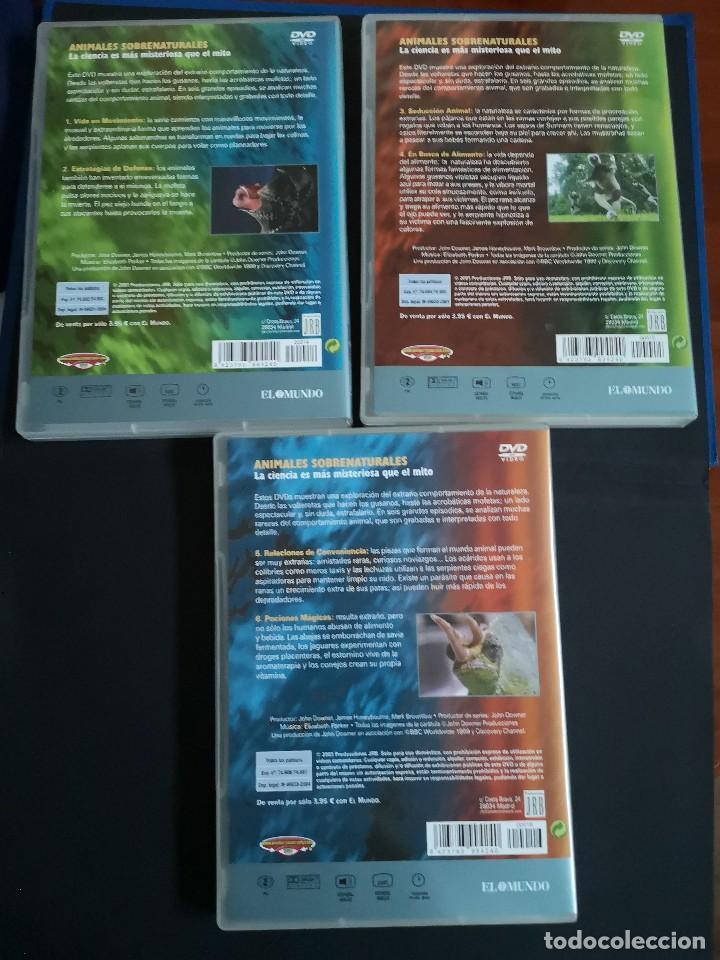 Cine: BBC 3 DVD ANIMALES SOBRENATURALES NUEVOS - Foto 2 - 134323994