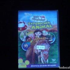 Cine: LITTLE EINSTEINS EXPEDICION ANIMAL - DVD NUEVO PRECINTADO PRECINTO ORIGINAL. Lote 134332218