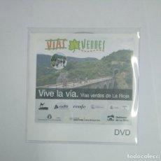 Cine: VIVE LA VIA. VIAS VERDES DE LA RIOJA. DVD. TDKV22. Lote 134345294