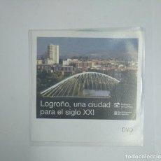 Cine: LOGROÑO, UNA CIUDAD PARA EL SIGLO XXI. LA RIOJA. DVD. TDKV22. Lote 134345514