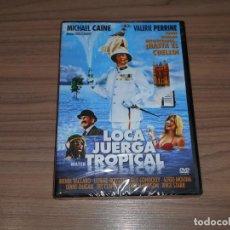 Cine: LOCA JUERGA TROPICAL DVD MICHAEL CAINE NUEVA PRECINTADA. Lote 233421130