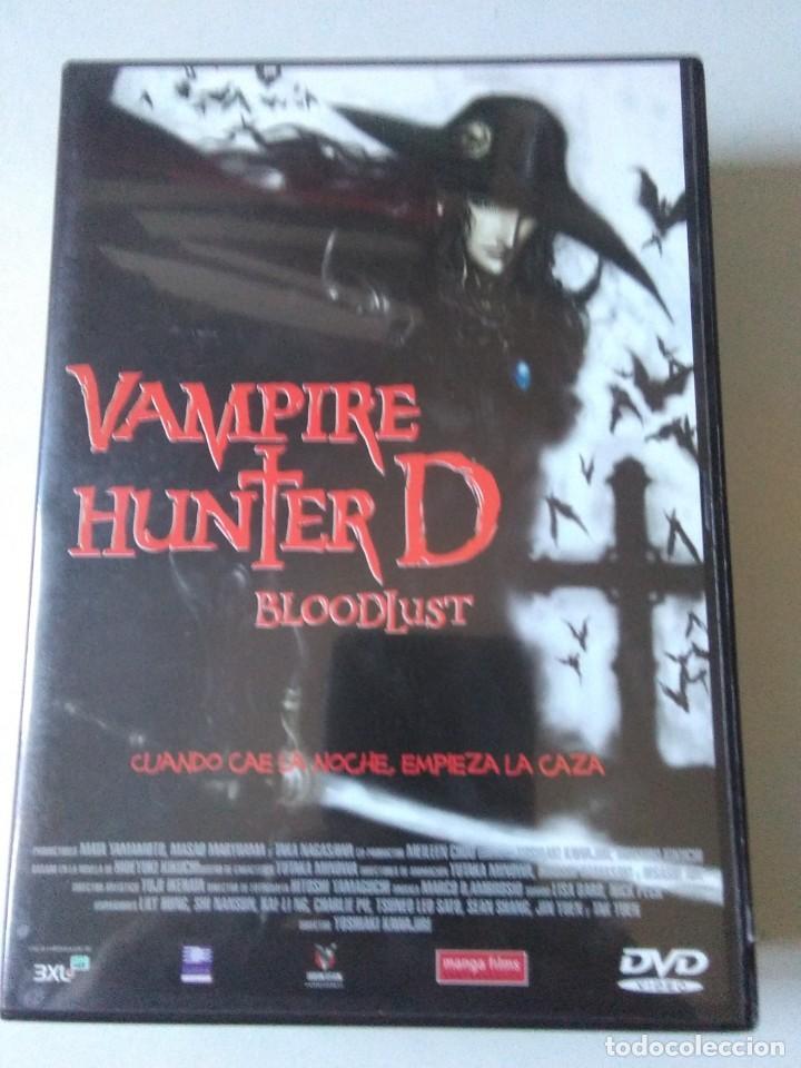 VAMPIRE HUNTER D. BLOODLUST . segunda mano