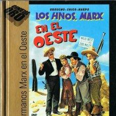 Cine: LOS HERMANOS MARX EN EL OESTE (LIBRO DVD). Lote 134391394