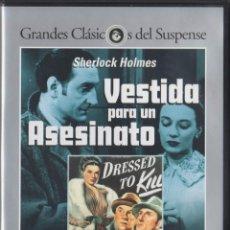 Cine: SHERLOCK HOLMES - CUATRO PELICULAS. Lote 134409090