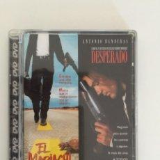 Cine: DVD - EL MARIACHI / DESPERADO.. Lote 134447698