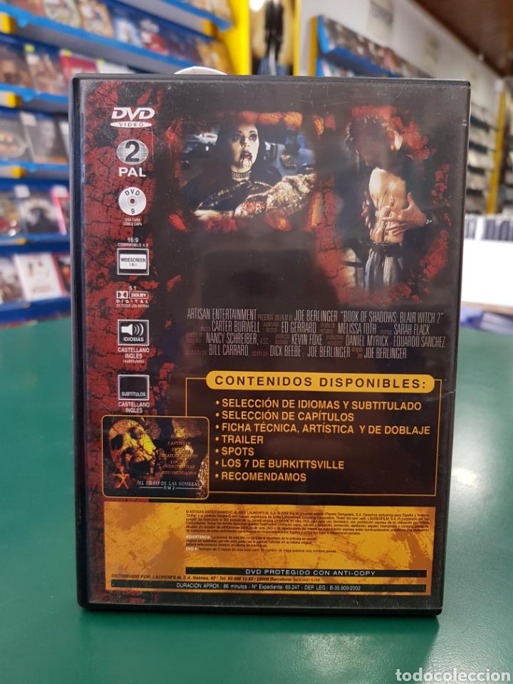 Cine: ( S 48 ) el Libro de las Sombras 2 - DVD SEGUNDAMANO - Foto 2 - 134545878