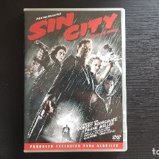 Cine: SIN CITY - ROBERT RODRIGUEZ - FRANK MILLER - DVD - BUENAVISTA - 2005. Lote 134554354