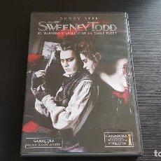 Cine: SWEENEY TODD - JOHNNY DEPP - TIM BURTON - DVD - WARNER - 2007. Lote 134555790