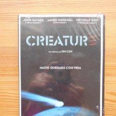 Cinema: DVD CREATURE - JOHN SAVAGE - JAMES MARSHALL - NUEVA, PRECINTADA (R7). Lote 134621106