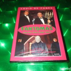 Cine: FANTOMAS CONTRA SCOTLAND YARD - DVD - E. 8170042 - SHERLOCK FILMS - PRECINTADA - LOUIS DE FUNES. Lote 134786250