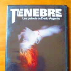 Cine: TENEBRE (DARIO ARGENTO) (DVD CAJA SLIM). Lote 134832682