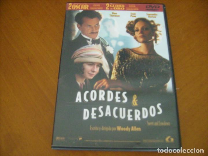 ACORDES & DESACUERDOS / WOODY ALLEN ( DVD ) (Cine - Películas - DVD)
